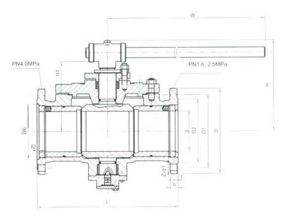 Q41H金属硬密封球阀